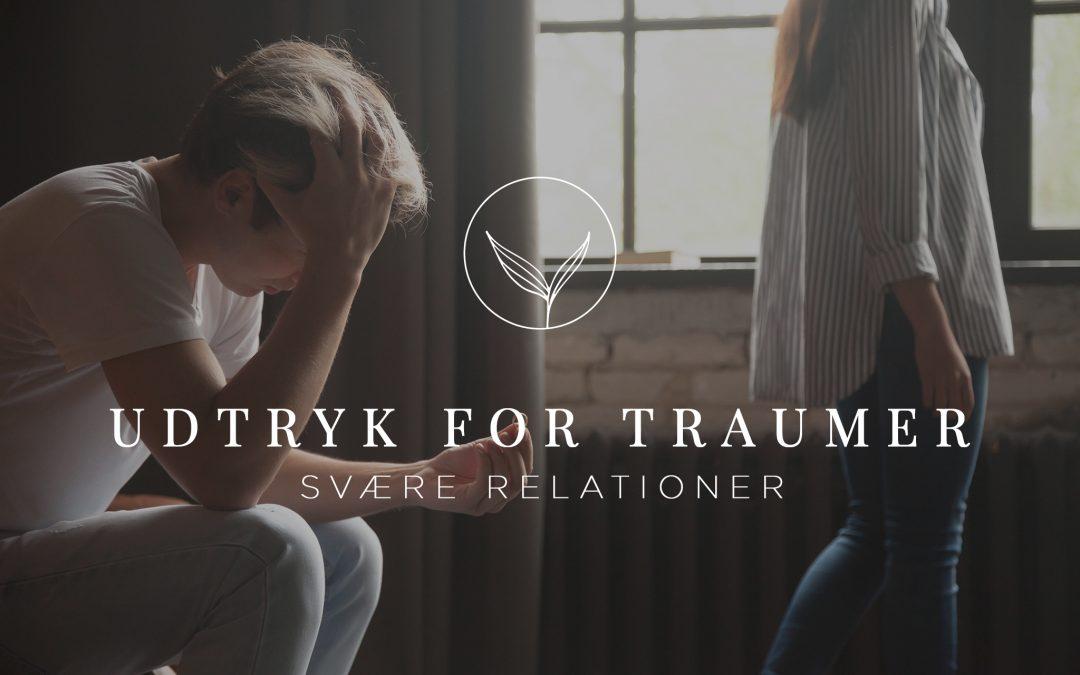 Udtryk for Traumer – Svære relationer